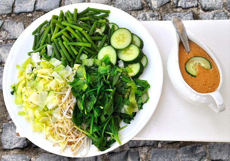 pecel classic indonesian salad recipe beb vuyk