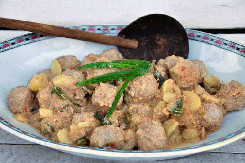zachte rijst met lekker saus
