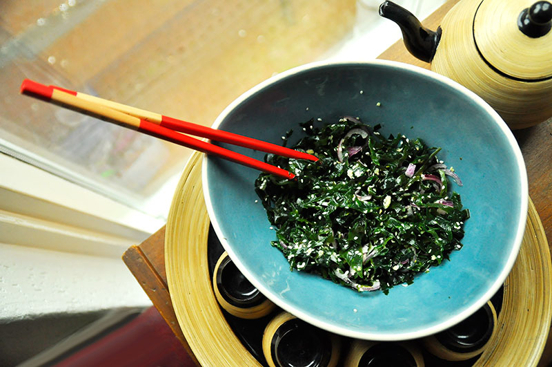 wakame sallad recept