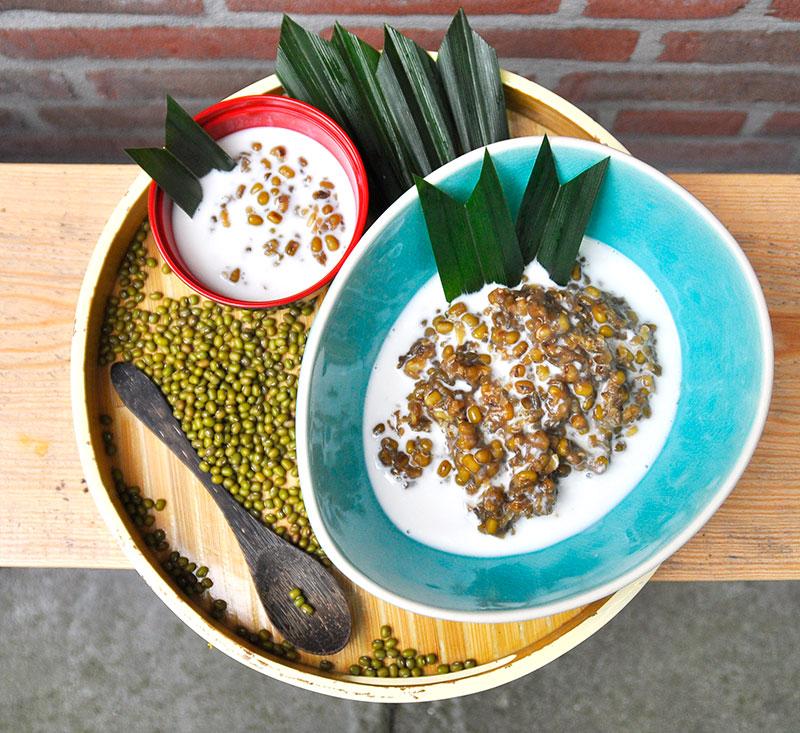Mung Bean Porridge Bubur Kacang Hijau Easy Indonesian Recipe